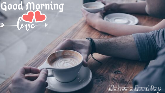 Good Morning  Image with love tea  .Good Morning  Images