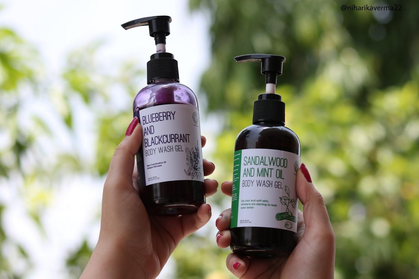 Greenberry Organics Blueberry and Sandalwood Body Wash