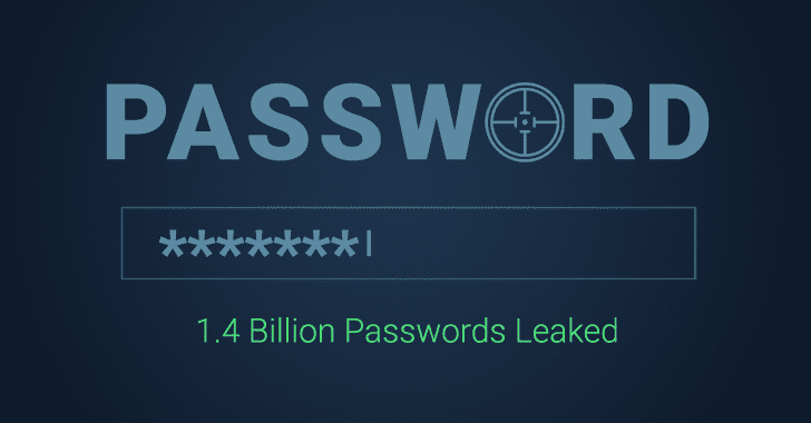 Collection of 1.4 Billion Plain-Text Leaked Passwords Found Circulating Online