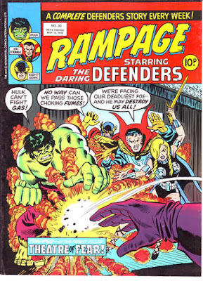 Rampage #30, the Defenders