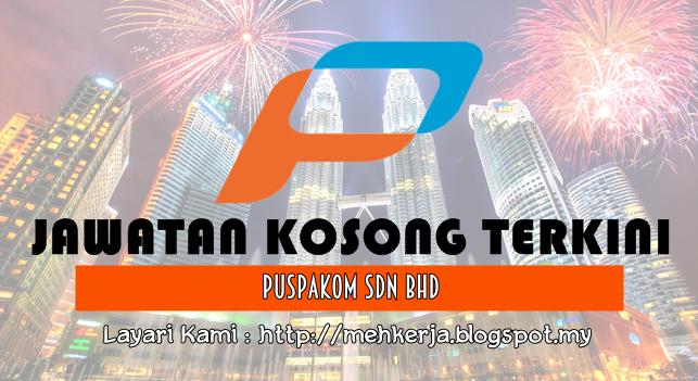 Jawatan Kosong Terkini 2016 di PUSPAKOM Sdn Bhd