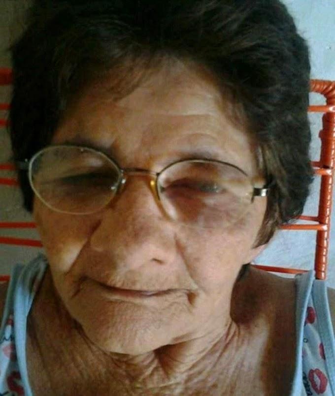 LUTO: Aposentada Angélica Rosa falece aos 85 anos em Elesbão Veloso
