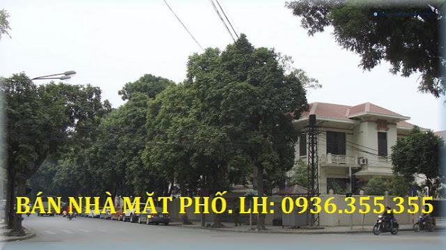 Bán Nhà Mặt Phố Trần Phú