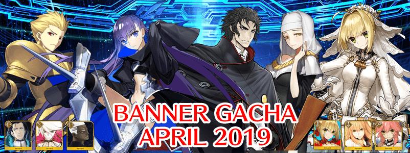 Banner Gacha di Bulan April 2019 (FGO NA)