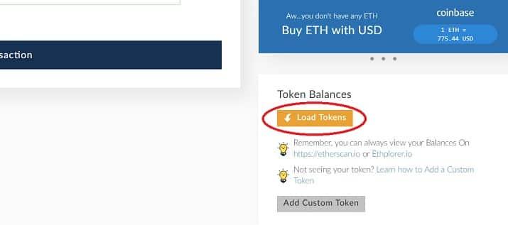 tokens EOS wallet guardar guía español