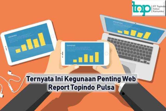 Ternyata Ini Kegunaan Penting Web Report Topindo Pulsa
