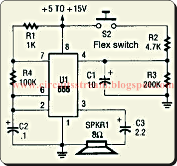 Alarm Voiecer For Bend Switch Circuit Diagram