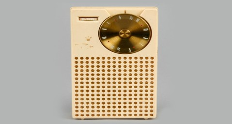 What was the name of the world's first transistor radio?