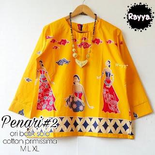 Blouse Batik Penari Top2 Katun Primissima