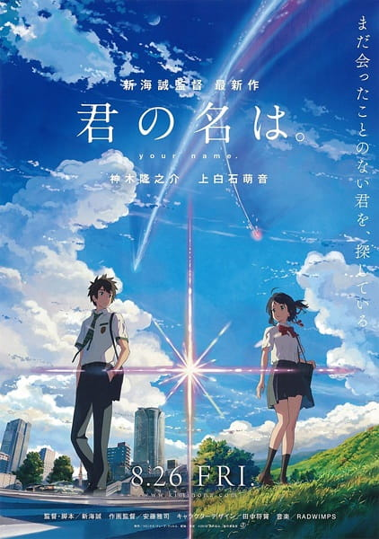 فيلم Kimi no Na wa (Your Name) مترجم أون لاين تحميل و مشاهدة