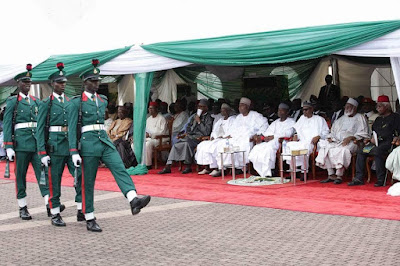 NIGERIA @ 56 – SEE PHOTOS FROM THE ONGOING INDEPENDENCE DAY CELEBRATION IN ASO ROCK
