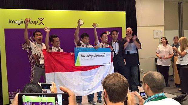 Kembali Harumkan Indonesia Setelah Staf Obama Dari Malang, Kini None Developer Asal Madura Jadi Juara Di Imagine Cup Amerika