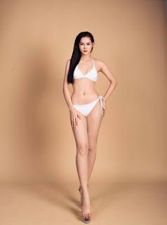 Thanh Huyền chia sẻ cô sở hữu chiều cao 1m74, số đo ba vòng là 81-59-95.