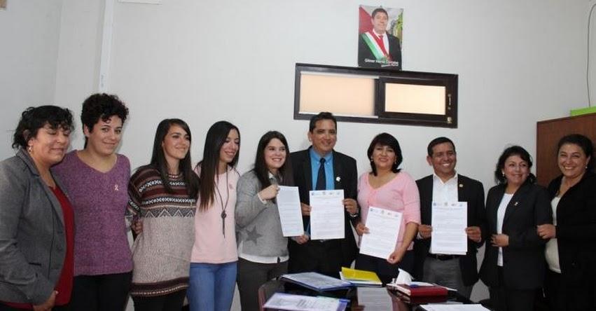 Gobierno Regional de Amazonas firmó convenio internacional en favor de la Educación Básica Especial - www.drea.gob.pe