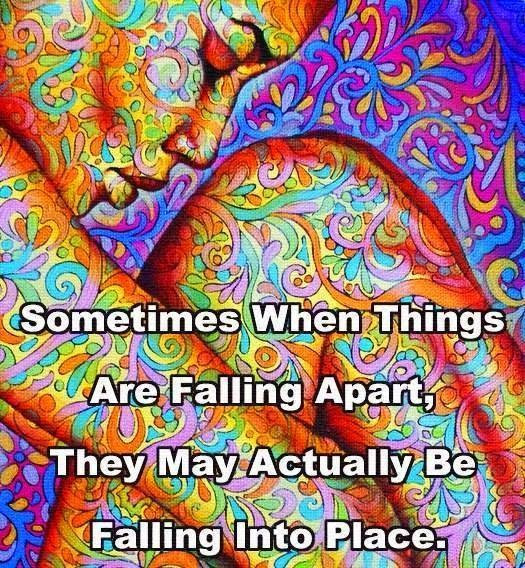 Things, falling, Apart, together,