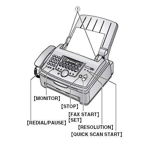 Fax Machine Diagram