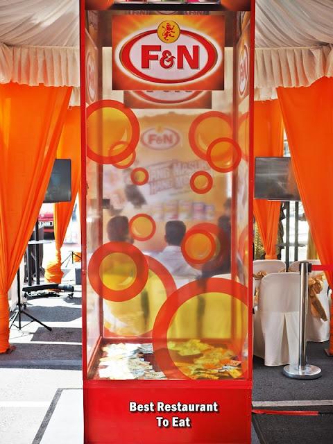 F&N Hang Tarik Grab Money Contest