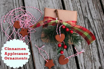 DIY Cinnamon Applesauce Ornaments