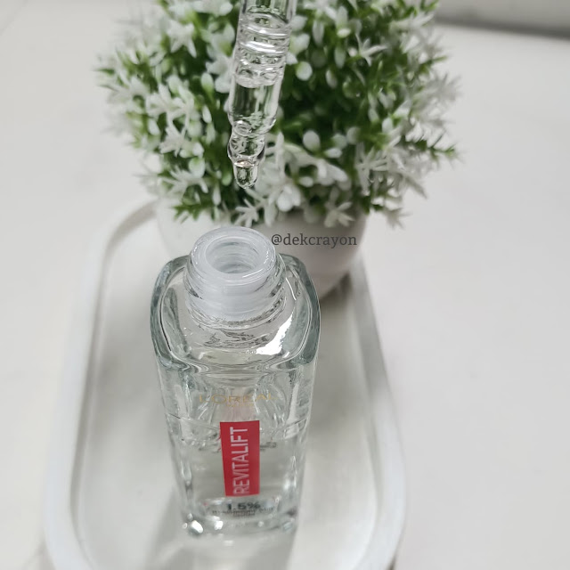 tekstur loreal revitalift hyaluronic acid