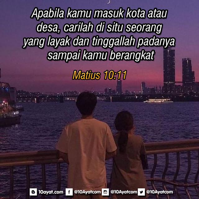 Matius 10:11