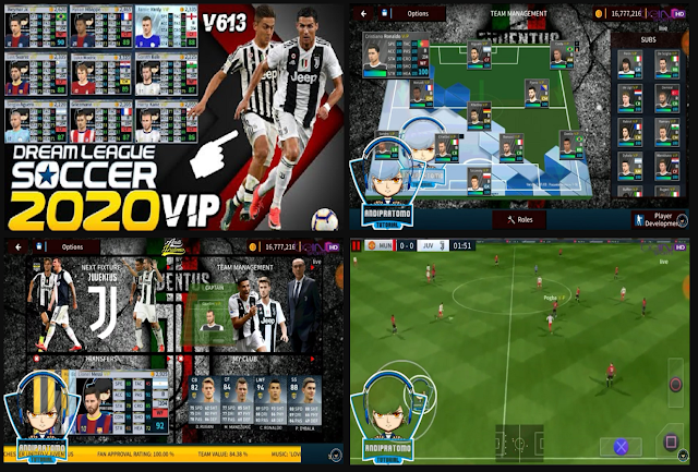 Download DLS 2020 VIP MOD JUVENTUS HD GRAPHICS