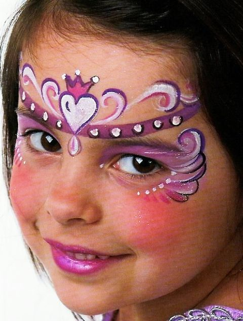 Princess Face Painting Ideas For Kids