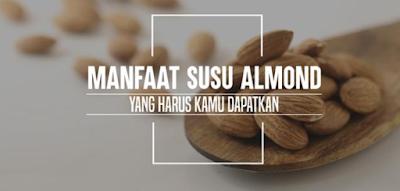 Manfaat dan Khasiat Susu Almond