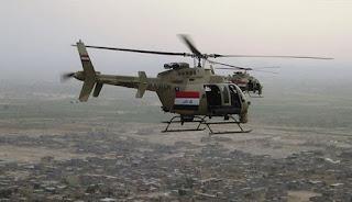 الطائرات الحربية العراقية تواصل قصفها لمواقع داعش وأنباء مؤكدة عن مقتل 55 إرهابي بشمال العراق