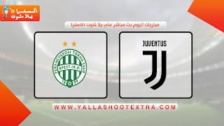 نتيجة مباراة يوفنتوس وفرينكفاروزي اليوم 04-11-2020 في دوري أبطال أوروبا
