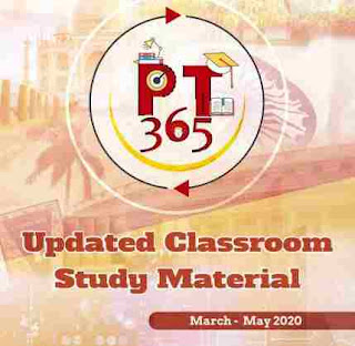 Vision IAS PT365 Updated Classroom Material Mar-May 2020