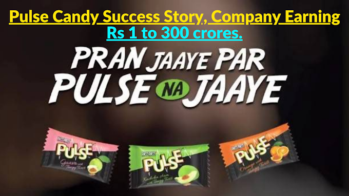 Pulse Candy Success Story, Company Earning Rs 1 to 300 crores.