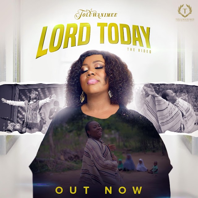 Toluwanimee Premieres Beautiful Visuals for 'Lord Today' || @toluwanimee