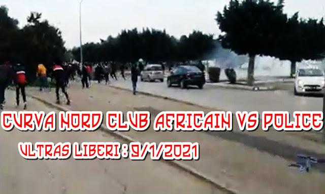 Club Africain : Les supporters protestent devant la FTF