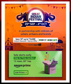 Great indian festival - Amazon sale