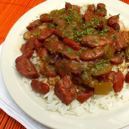 Traditional Red Beans and Rice
