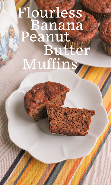Food Lust People Love: If you are looking for a tasty gluten-free snack that that can be made in ONE BOWL, these flourless banana peanut butter muffins fit the bill perfectly. They are surprisingly fluffy inside and just the right amount of sweet.
