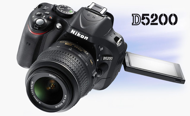 Download Software and Firmware Nikon D5200 DSLR Camera