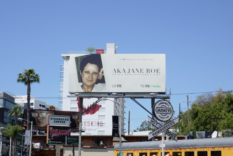 AKA Jane Roe fx billboard
