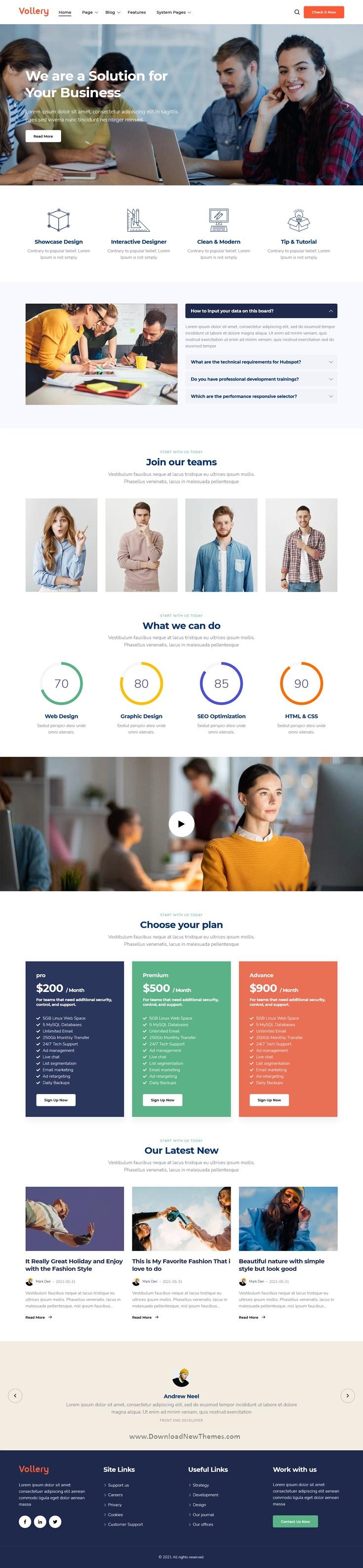 Multi-Purpose HubSpot Theme