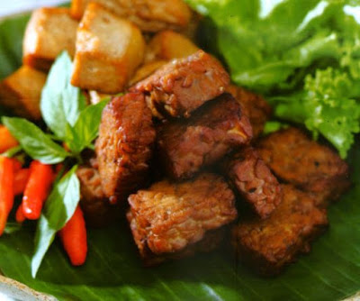 Tempe Bacem Masakan Khas Indonesia