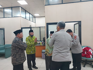 KBP Badya Wijaya, SH.,MH Kunjungi Masjid Raya Islamic Center Jakarta Utara