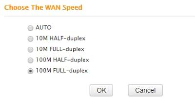 Wan Speed