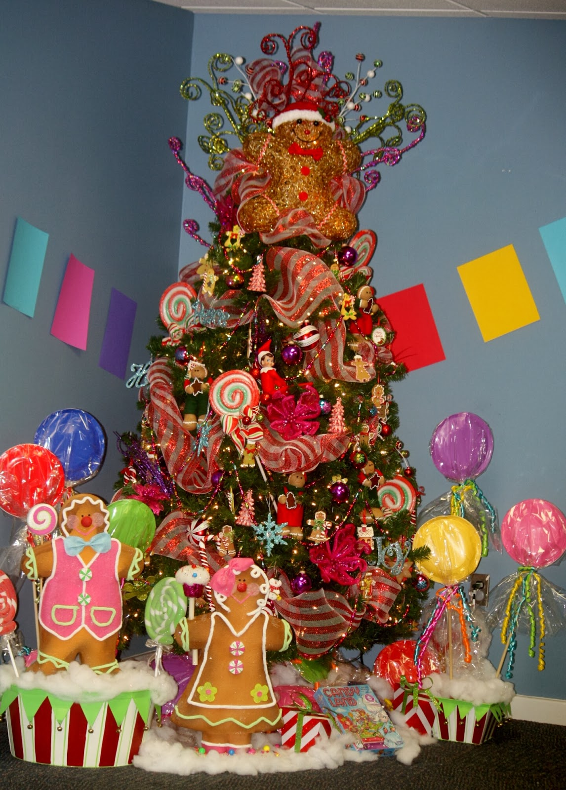Ramblings Of A Southern Girl Candyland Christmas Tree