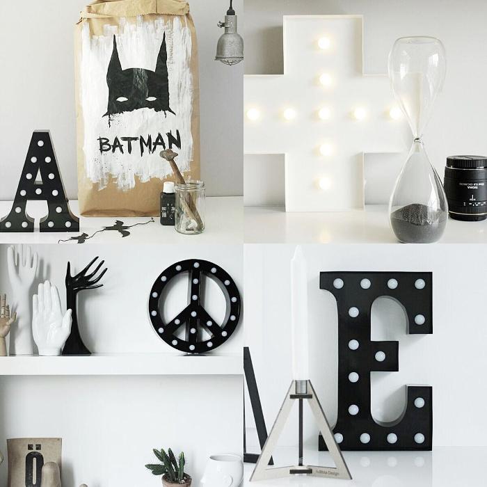 bokstavslampa, bokstavslampor, cirkuslampa, cirkuslampor, cirkuslampan, lampa, lampor, annelies design, webbutik, webbutiker, webshop, inredning, bokstäver, peace, peacemärket, kors, plus, plustecken, svart och vitt, svartvit, svartvtia, vitt, svart, svarta, metall, batman, förvaringspåse, påse, påsar,