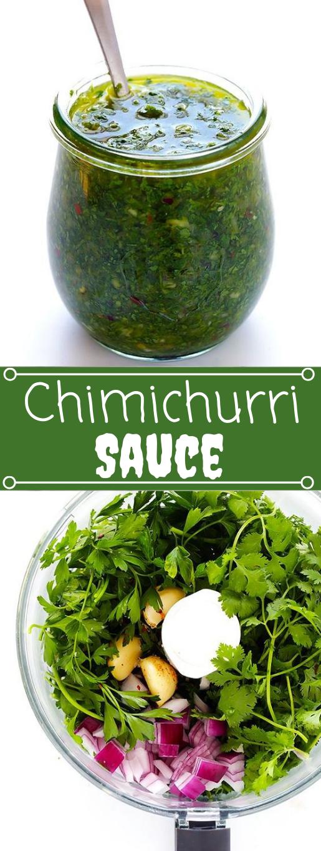 CHIMICHURRI #vegetarian #vegan #easy #food #healthyrecipes