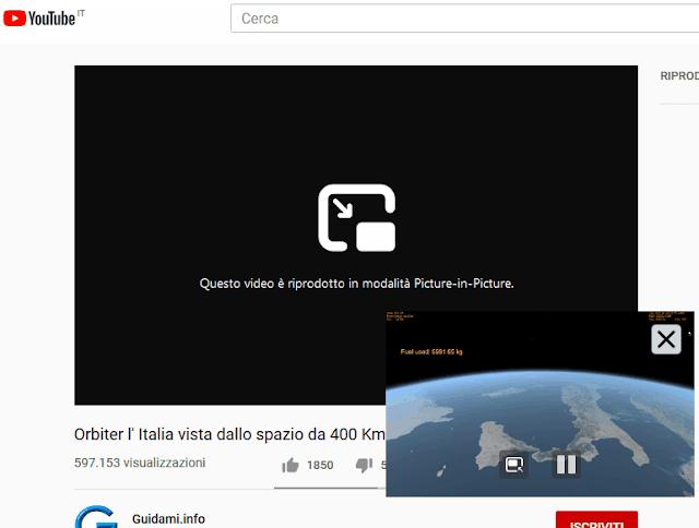 Firefox 71 video in riproduzione in modalità Picture-in-Picture