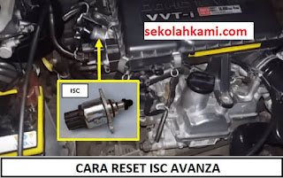 cara reset ISC Avanza