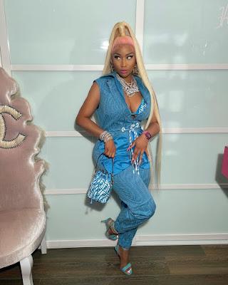 Nicki Minaj All Fendi Look