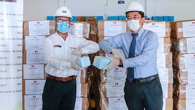 Huawei dona de equipos de protección al Minsa valorizado en más de 600 mil soles