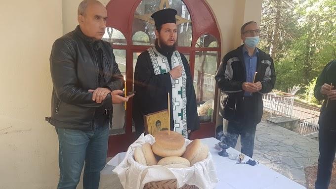 Αρτοκλασία στο Εκκλησάκι του Αγίου Δημητρίου του Φ.Ο.Ο.Φ
